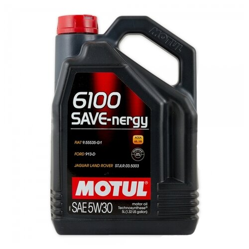 Моторное масло Motul 6100 SAVE-nergy 5W30 5 л
