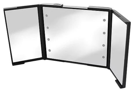 Зеркало косметическое настольное BESPECIAL трехстворчатое (малое)