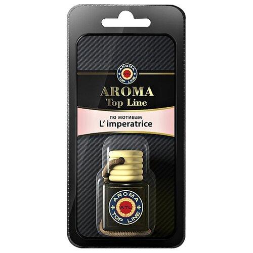 AROMA TOP LINE Ароматизатор для автомобиля 3D Aroma №4 D&G L`Imperatrice 6 мл