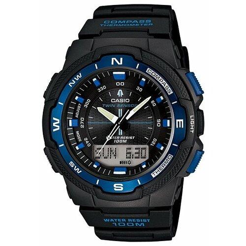 Наручные часы CASIO SGW-500H-2B casio часы casio lx 500h 2b коллекция analog