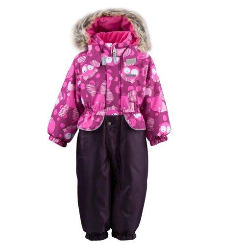 Купить Комбинезон KERRY FRAN K19409 A размер 80, 2644 розовый/фиолетовый, Теплые комбинезоны