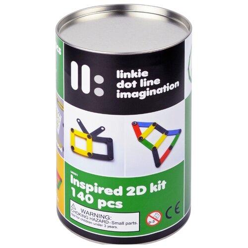 Купить Винтовой конструктор Linkie 2D kit Inspired 140 деталей, Конструкторы