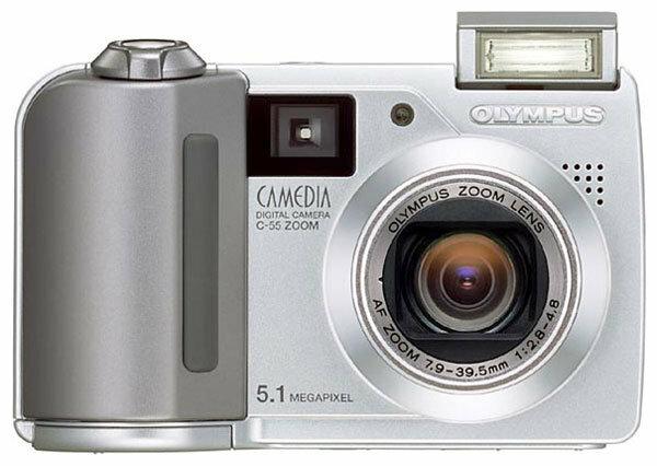 Фотоаппарат Olympus Camedia C-55 Zoom