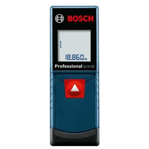 Лазерный дальномер BOSCH GLM 20 Professional лазерный дальномер bosch glm 40
