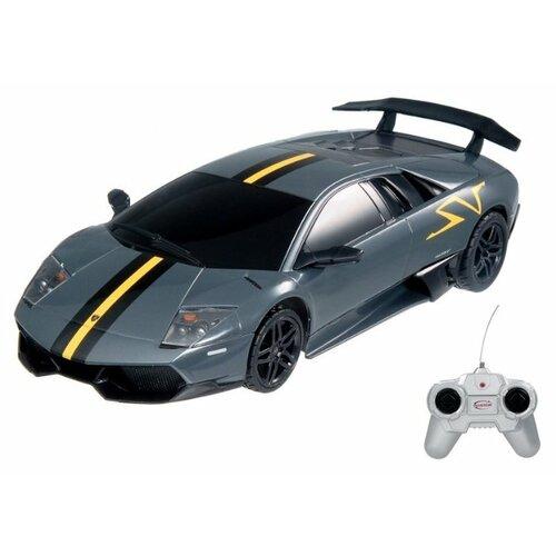цена на Легковой автомобиль Rastar Lamborghini Superveloce LP670-4 (39001) 1:24 18 см черный/серый/желтый