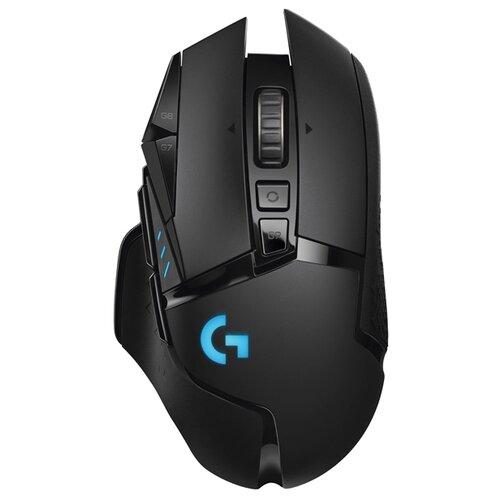 Беспроводная мышь Logitech G G502 Lighspeed черный мышь logitech g502 lightspeed