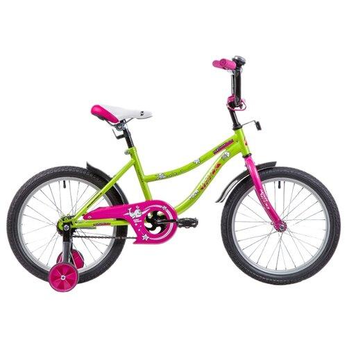 Детский велосипед Novatrack Neptune 18 (2019) зеленый (требует финальной сборки)