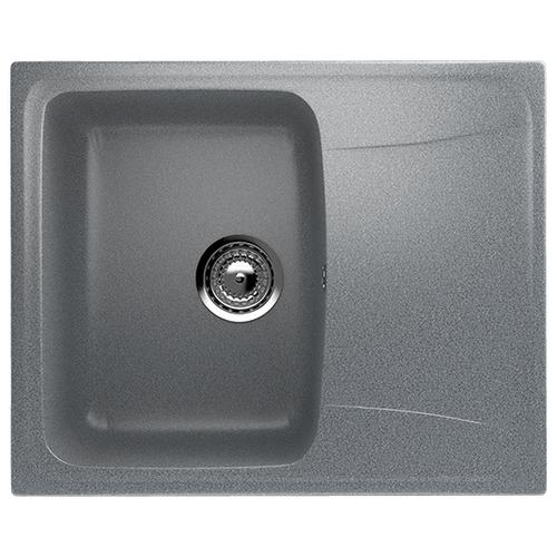 цена на Врезная кухонная мойка 58 см Ulgran U-201 U-201-309 309 темно-серый