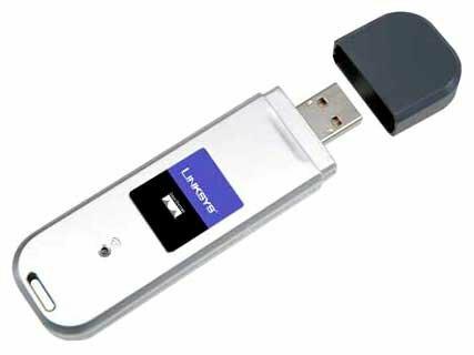 Wi-Fi адаптер Linksys WUSB54GC