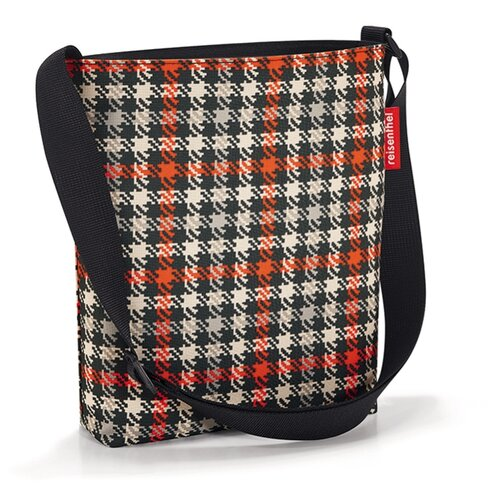 Сумка планшет reisenthel Shoulderbag S Glencheck, текстиль планшет