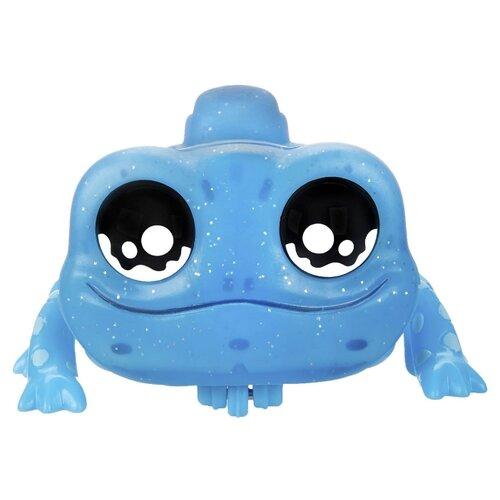 Интерактивная игрушка робот Hasbro Yellies Ящерица Echo Gecko E6151 голубой