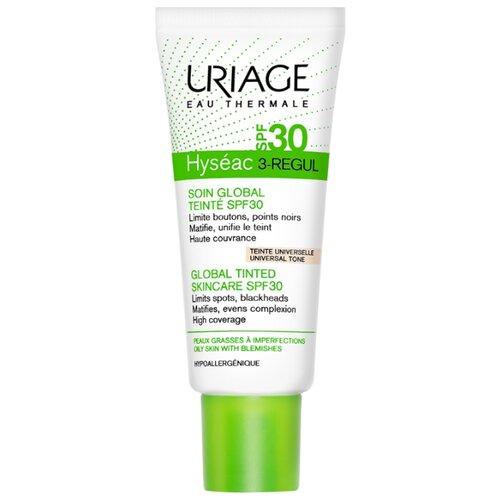 Uriage Тональное средство Hyseac 3-regul SPF30, 40 мл, оттенок: universal tone цена 2017