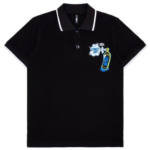 Купить Поло CUBBY размер 170, черный, Футболки и майки
