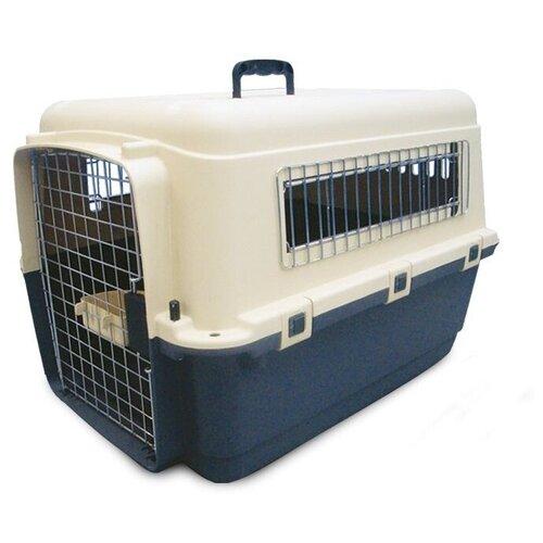 Клиппер-переноска для собак Triol Premium Large 80х56.2х59 см синий/белый сумка переноска для собак triol лаура 46х26 5х28 см голубой серый