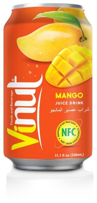 Напиток сокосодержащий Vinut манго, 0.33 л