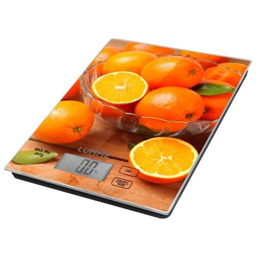 Кухонные весы Lumme LU-1342 апельсиновый фрешКухонные весы<br>