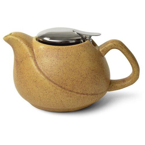 Fissman Заварочный чайник с ситечком 750 мл, песочный