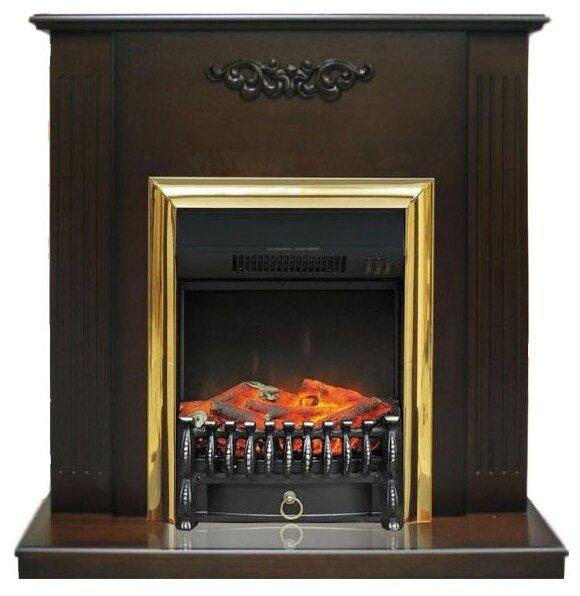 Электрический камин Royal Flame Fobos BR (венге) + Lumsden