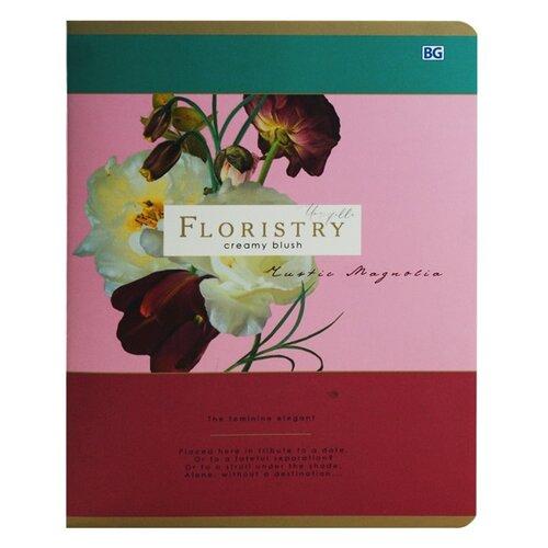Купить BG Набор тетрадей Floristry, 4 шт. в клетку, 96 л., ассорти, Тетради