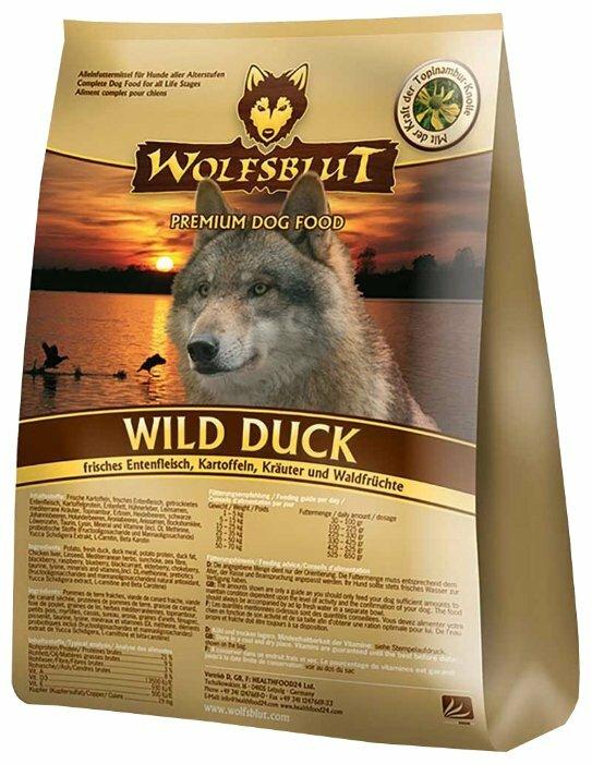Корм для собак Wolfsblut Wild Duck Adult (15 кг)
