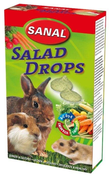 Лакомство для кроликов, грызунов SANAL Salad Drops