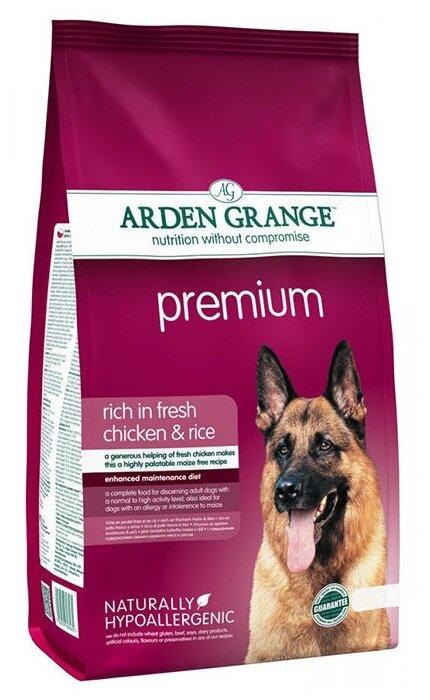 Корм для собак Arden Grange Premium для взрослых собак Премиум сухой корм для взрослых собак
