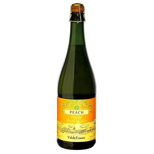 Газированный напиток Val De France Peach, 0.75 л