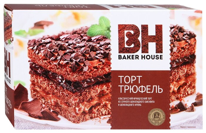 Торт BAKER HOUSE Трюфель
