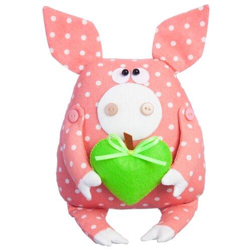 Купить Малиновый слон Набор для изготовления мягкой игрушки Поросёнок Лаврик (ТК-006), Изготовление кукол и игрушек