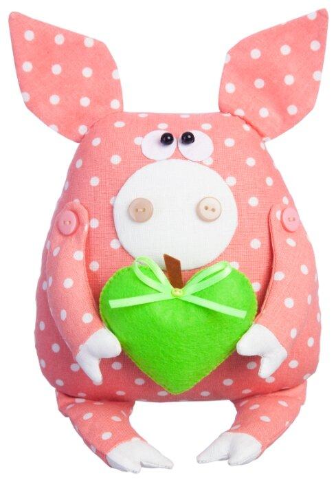 Малиновый слон Набор для изготовления мягкой игрушки Поросёнок Лаврик (ТК-006)