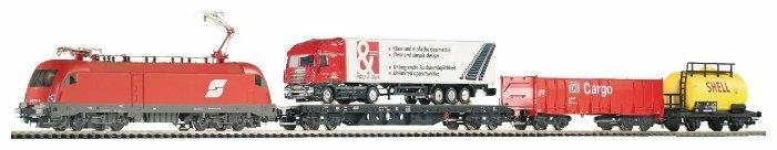 """PIKO Стартовый набор """"Грузовой состав DB Cargo с локомотивом Taurus OBB"""", серия Hobby, 57170, H0 (1:87)"""