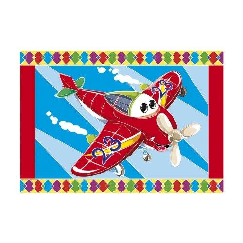 Фото - Гравюра Рыжий кот Самолетик, в пакете с ручкой (Г-9452) цветная основа гравюра рыжий кот зайчик в пакете с ручкой г 9449 цветная основа