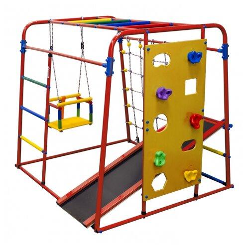 Спортивно-игровой комплекс Формула здоровья Start baby 2 красный/радуга