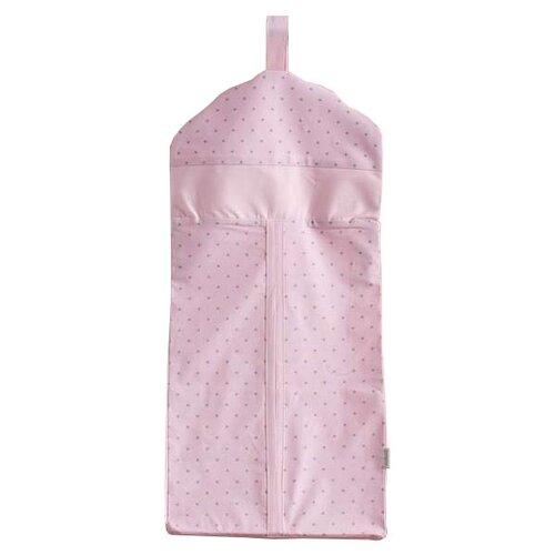 Kidboo Прикроватная сумка Sweet Flowers розовыйОрганайзеры и карманы в кроватку<br>