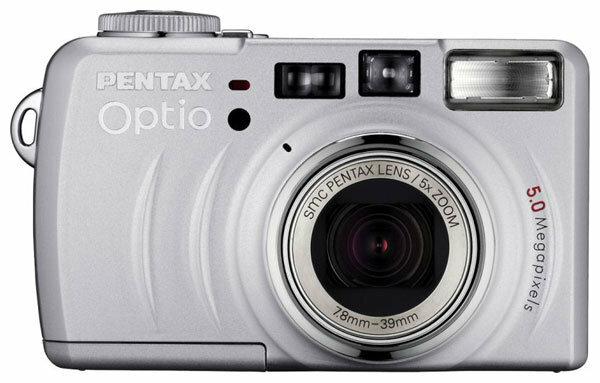 Фотоаппарат Pentax Optio 555