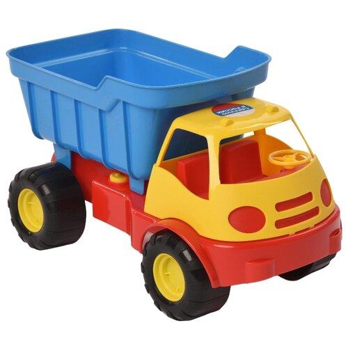 Купить Грузовик ZEBRATOYS Active (15-5248) 31 см желтый/синий/красный, Машинки и техника