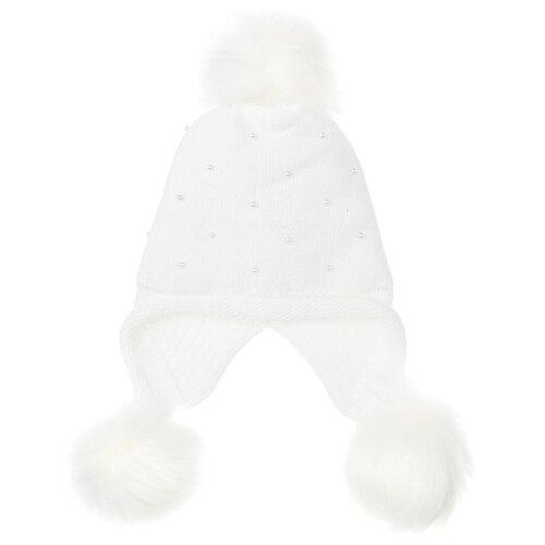 Купить Шапка playToday размер 54, белый, Головные уборы