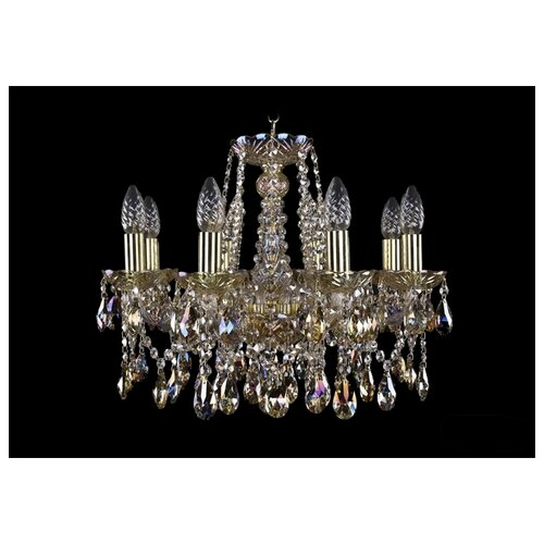 Фото - Люстра Bohemia Ivele Crystal 1413 1413/8/165/G/M701, E14, 320 Вт люстра bohemia ivele crystal 1413 18 400 g e14 720 вт