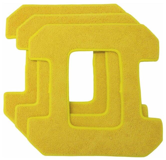 Аксессуар HOBOT запасные чистящие салфетки из микрофибры для 268/288 желтые (3 штуки)