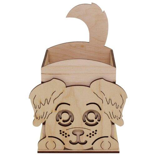Купить Astra & Craft Деревянная заготовка для декорирования Щенок L-674 береза, Декоративные элементы и материалы