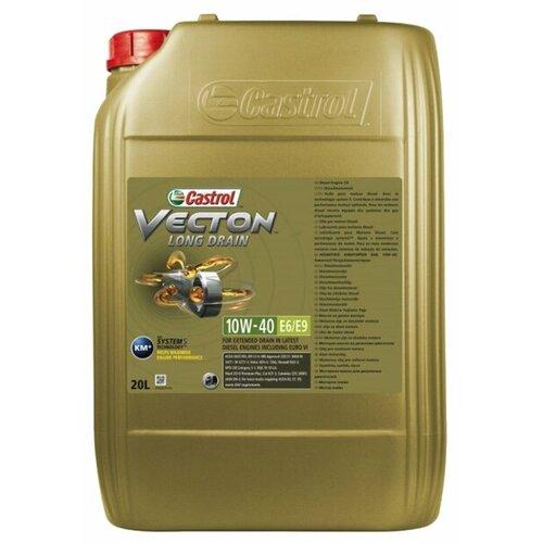 цена на Моторное масло Castrol Vecton Long Drain 10W-40 E6/E9 20 л