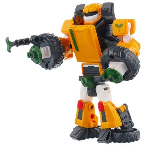 Купить Трансформер YOUNG TOYS Tobot Mini T 301077 желтый, Роботы и трансформеры
