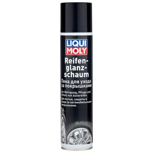 Очиститель-полироль шин LIQUI MOLY Reifen Glanz Schaum, 300 мл 1 шт.