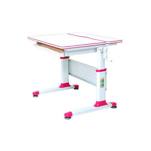 Стол RIFFORMA Comfort-80 80x70 см белый/розовый rifforma кресло comfort 06