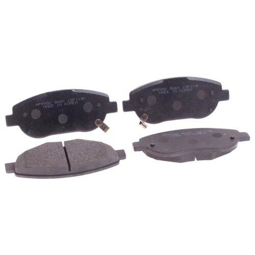 Фото - Дисковые тормозные колодки передние HONG SUNG BRAKE HP9980 для Toyota Avensis (4 шт.) дисковые тормозные колодки передние nibk pn1521 для toyota camry 4 шт