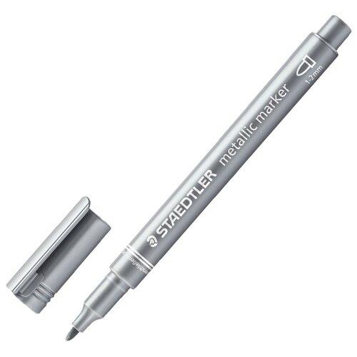 Купить Staedtler маркер декоративный 8323 81 silver metallic, Фломастеры и маркеры
