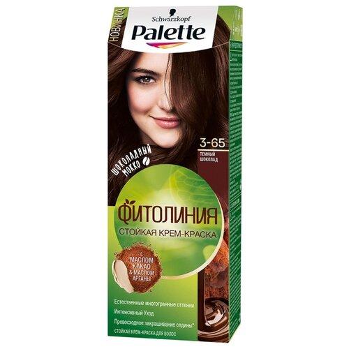 Palette Фитолиния Шоколадный Мокко стойкая крем-краска для волос, 3-65 Темный шоколад краска для волос матрикс мокко 6м отзывы