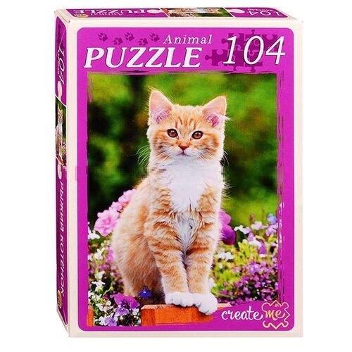 Фото - Пазл Рыжий кот Рыжий котенок (У104-7239), 104 дет. пазл рыжий кот причал и цветные дома кб1000 6884 1000 дет