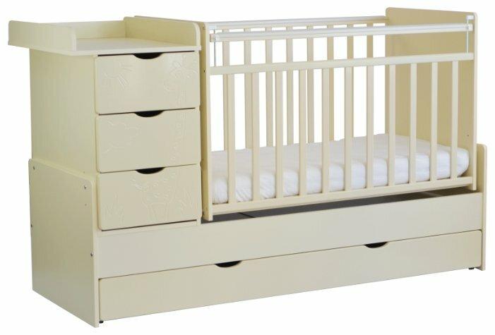 Кроватка СКВ-Компани 54003х Жираф (трансформер)