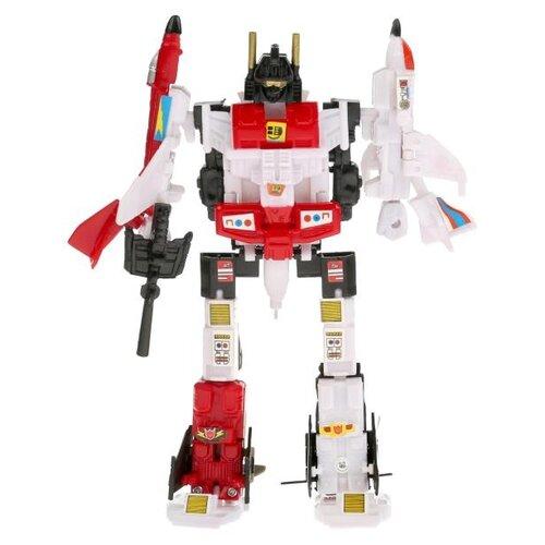 Купить Трансформер Play Smart Авиабот 8020 белый/красный/черный, Роботы и трансформеры